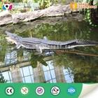 waterproof remote control life size animatronic crocodile