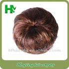 fake hair bun black hair bun pieces snap hair bun