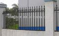 La parte superior- venta de galvanizado cuadrados de jardín de acero postes de la cerca