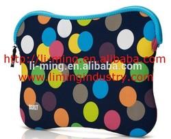 2014 cheap fashion waterproof new design high quality custom neoprene laptop sleeve