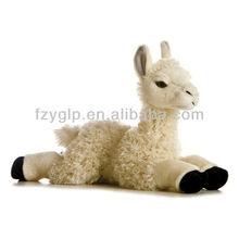 LLAMA Soft plush stuffed alpaca animal toy dolls for promotional gifts