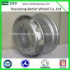 2014 Hot sale Factory direct BETTER Brand steel wheel rim for dump truck 22.5