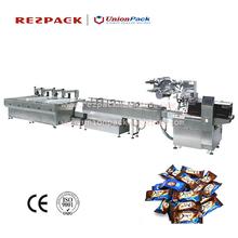 yastık tipi paketleme makinesi çikolata