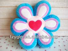 plush flower cushion for gift