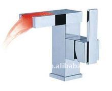 fancy temperature sensor led faucet mixer