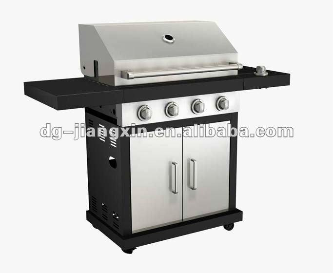 New design 4 main burner Bbq gas grill(JXG5104S)
