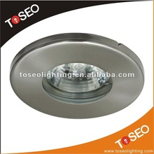 IP65 waterproof Round recessed downlight gu10
