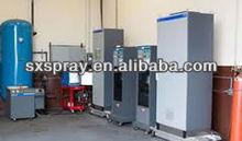 sandblasting,tungsten carbide coating equipment,powder coating,HVOF spray equipment