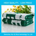 2014 atacado design personalizado de banho em microfibra toalha elegante