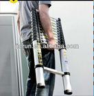 telescopic aluminium ladder/rubber feet for step ladder EN131