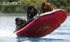 3 riders flying towable & inflatable tube surfing boat JUMBO towable inflatable water ski