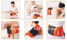 Vibration Belly Fat Slimming Massage Belt /Sauna Massage 2 in 1 Fitness Belt