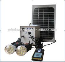 5W solar lighting kits for outdoor lighting