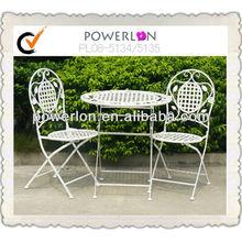Outdoor Furniture Folding Iron Garden Table