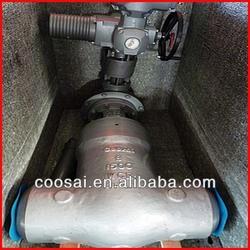 Electric actuator PN16 Rising stem gate valve