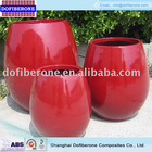 2014 new arrival China Style Professional top quality fiberglass flower pot
