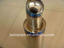 Titanium exhaust muffler