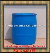 Manufacturer acetic acid glacial 99% for pesticide industry