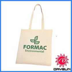 Eco-friendly custom cotton canvas shopping bag