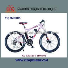 fashionable lady style electric mountain bike with panasonic battery 36V9AH