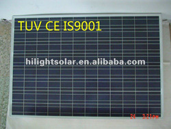 50w polycrystalline photovoltaic solar panels