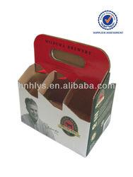 Custom Printed Tough 6 bottles beer boxes