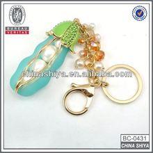 Hot Sale Promotional heart shape mobile phone key chain