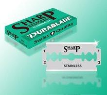 DURABLADE SWISS QUALITY SHARP HI CHROMIUM DOUBLE EDGE RAZOR BLADES