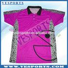 Polyester Sublimation Polo Shirts Custom Cricket Jerseys