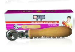 "Wooden Handle Repair Patch Tyre 1 1/2"" Dia Roller Tool"