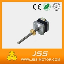 high quality fast delivery nema 17 linear stepper motor for 3d printer with CE certificate and lower price