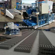WT10-3 mobile concrete block factory