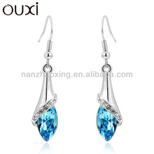 OUXI 2015 unique fashion earring jewelry for women made with Swarovski Elements