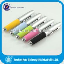 2014 hot selling mini easy take soft foam EVA short soft barrel pen
