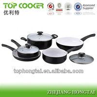 Pressed Aluminum ceramic coating pans and pots