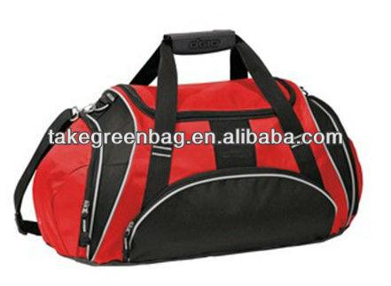 High quality travel sport bag with shoe bag