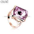 Moda OUXI anillos de bodas dubai joyas hechas con Swarovski Elements