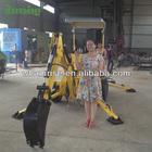 Mini excavator manufacturer factory direct mini wheel towable backhoe