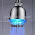 3 pulgadas ABS cabeza de ducha del LED / desviador QH399F