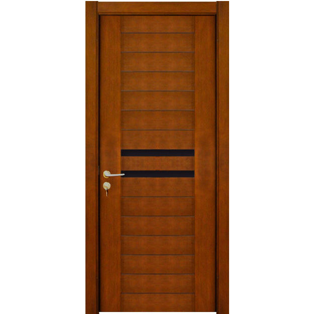 Modern front door indian simple design wood door for Modern single front door designs for houses