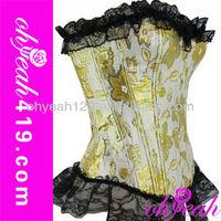 Wholesale lace design big girls sexy corset