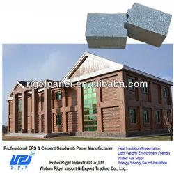 Eps sandwich panles cheap soundproof foam china prefabricated homes