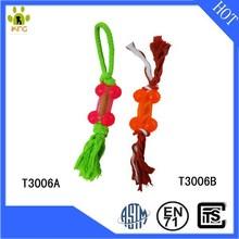 Hot sales bone shape interactive rubber pet toys