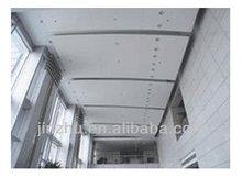 pvdf coated square designed aluminium panel, interior wall