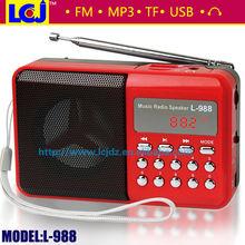 L-988 mini active speakers with usb port