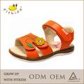 de alta calidad de cuero zapatos de los niños de la moda de verano modelo de sandalia 2014