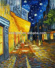 van gogh coffee house oil paintings
