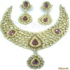 Kundan Polki Necklace sets, Polki Meena Necklace Sets, Polki Jewellery