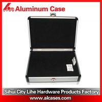 Aluminum tool boxes with die cut foam