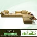 Couro moderno sofá de canto da cama para venda hs115# filipinas